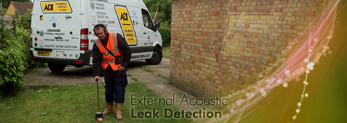 External Acoustic Leak Detection
