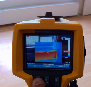 Central Heating Leak Detection - Thermal Imaging