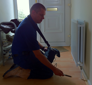 Central Heating Leak Detection - Tracer Gas